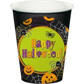 - Happy Halloween Etiketli Siyah Bardak