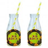 - Happy Halloween Limonata-Meşrubat Şişesi