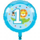 - Hayvan Dostlarım 1 Yaş Folyo Balon