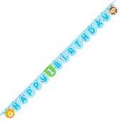 - Hayvan Dostlarım Happy Birthday Harf Afiş