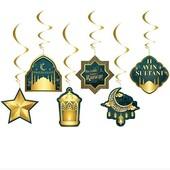 - Hoşgeldin Ramazan 6 lı Tavan Süsleri