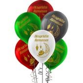- Hoşgeldin Ramazan Baskılı Plastik Balon