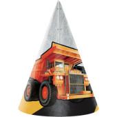 - İnşaat Araçları Parti Şapkası
