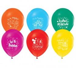 - İyi Ki Doğdun Lateks Balon
