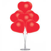 - Kalp Balonlar ve Balon Standı