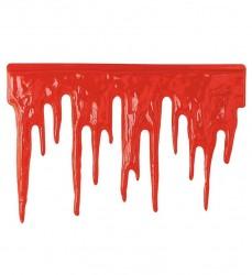 Widmann - Kanlı Plastik Dekor Asma Süs (60cm x 40cm)