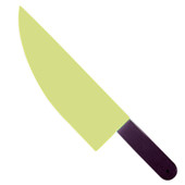 - Karanlıkta Parlayan Dev Plastik Bıçak