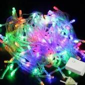 - Karışık Renk LED Yılbaşı Işığı 10 Metre