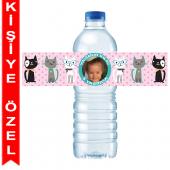 - Kedicikler Kişiye Özel Su Şişesi Bandı