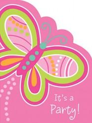 - Kelebekler Partisi Davetiye