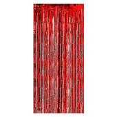 Kırmızı Kapı - Duvar Folyo Fon Perdesi - Thumbnail