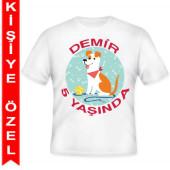 - Köpek Dostlarım Kişiye Özel Baskılı T-Shirt