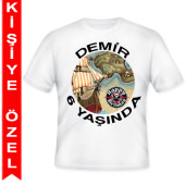 - Korsan Hazinesi Kişiye Özel Baskılı T-Shirt