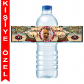 - Korsan Hazinesi Kişiye Özel Su Şişesi Bandı