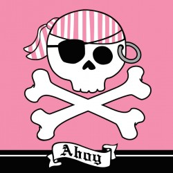 - Korsan Kız Partisi Peçete
