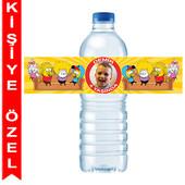 - Kral Şakir Kişiye Özel Su Şişesi Bandı