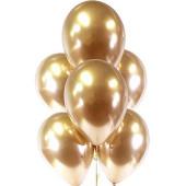 - Altın Sarı Krom Lateks Balon