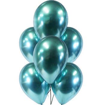 Yeşil Krom Lateks Balon