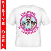 - LOL Bebek Kişiye Özel Baskılı T-shirt