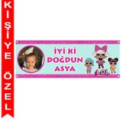 - LOL Bebek Kişiye Özel Fotoğraflı Afiş
