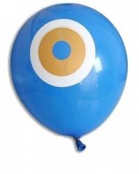 - Mavi Nazar Boncuğu Lateks Balon