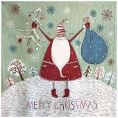 - Merry Christmas Yeni Yıl Peçetesi
