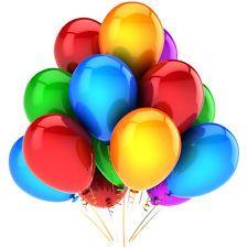 - Metalik Karışık Renk Lateks Balon