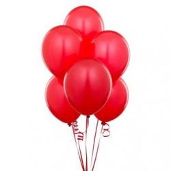 - Metalik Kırmızı Lateks Balon