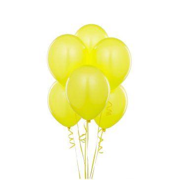 Metalik Sarı Lateks Balon