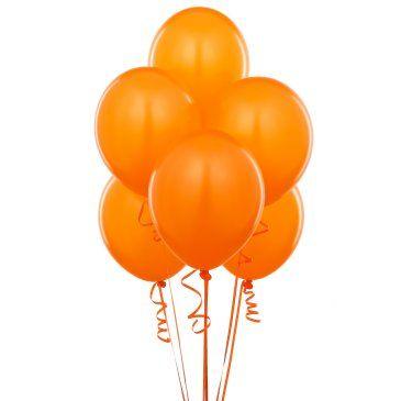 Metalik Turuncu Lateks Balon