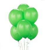 - Metalik Yeşil Lateks Balon