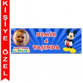 - Mickey Mouse Kişiye Özel Afiş