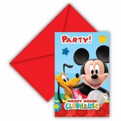 - Mickey Mouse Davetiye