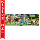 - Minecraft Kişiye Özel Afiş