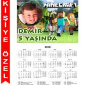 - Minecraft Kişiye Özel Takvim