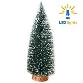 - Mini Dekoratif Çam Ağacı Işıklı / Pilli