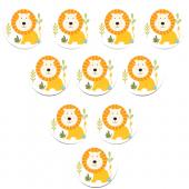 - Mini Safari Aslanlı Hediyelik Sabun