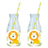 - Mini Safari Aslanlı Limonata-Meşrubat Şişesi