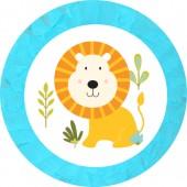 - Mini Safari Aslanlı Pinyata ve Sopası