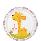 - Mini Safari Zürafalı Küçük Tabak