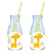 - Mini Safari Zürafalı Limonata-Meşrubat Şişesi