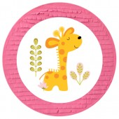 - Mini Safari Zürafalı Pinyata ve Sopası