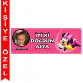 - Minnie Mouse Kişiye Özel Afiş