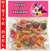 - Minnie Mouse Kişiye Özel Ambalajlı Kent Şeker