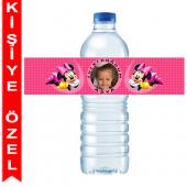 - Minnie Mouse Kişiye Özel Su Şişesi Bandı