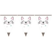 - Miss Cat Üçgen Bayrak Afiş