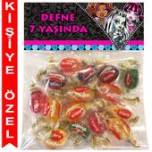 - Monster High Kişiye Özel Ambalajlı Kent Şeker