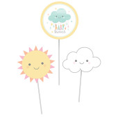 - Mutlu Bulut Masa Süsü Çubukları