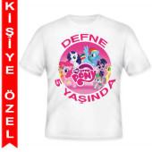 - My Little Pony Kişiye Özel Baskılı T-Shirt
