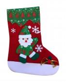 - Neşeli Kardan Adam Kırmızı Çorap Mekan Süsü